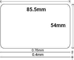 Member-card-size